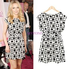 Cheap dresses holiday, Buy Quality dress accessorize directly from China dress career Suppliers: Preppy Style Women Clothing Geometric Print
