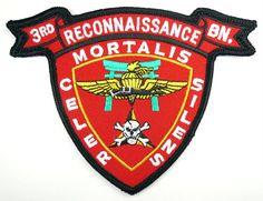 USMC 3d RECONNAISSANCE BN PATCH