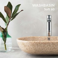 Woodio washbasins with soft and clear lines, bringing out the unique wooden material. Small Appartment, New Farm, Sophisticated Style, Scandinavian Style, Basin, Different Colors, Innovation, Bronze, Modern