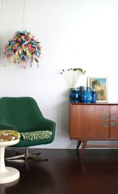 Ingrid & Sjaak's Colorful Dutch Abode House Tour | Apartment Therapy