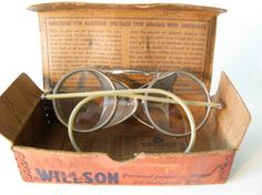 Vintage Wilson Safety Welding Goggles Motorcycle Goggles by Sfuso, $95.00
