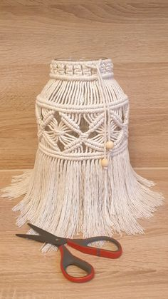 Jar Lanterns, Macrame Tutorial, Micro Macrame, Baby Shower Decorations, Diy Furniture, Diy And Crafts, Candle Holders, Etsy Shop, Knitting