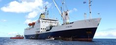 Last operational Mail Ship: RMS St Helena