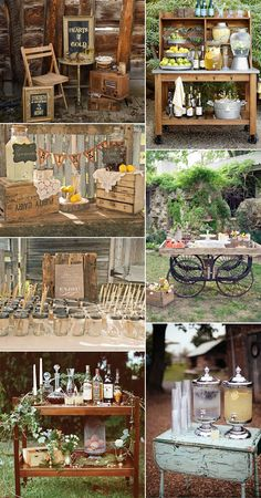 awesome beautiful  attractive wedding drink bar ideas
