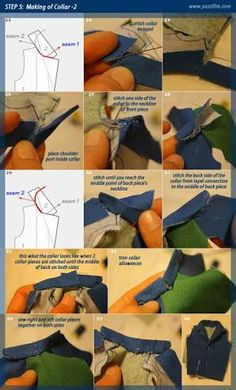 Clothes for stop motion puppets