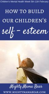 Top tips on How To Build Our Children's Self Esteem whilst raising awareness for Children's Mental Health Week. Parenting Memes, Parenting Toddlers, Parenting Advice, Parenting Classes, Children's Mental Health Week, Activities For Teens, Gentle Parenting, Mom Blogs, Self Esteem