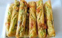 Recette de FINGERS COURGETTES CHEVRE BASILIC - i-Cook'in Zuchinni Recipes, Basil Recipes, Vegan Recipes, Appetizer Buffet, Yummy Appetizers, Appetizer Recipes, Healthy Food Alternatives, Batch Cooking, Queso