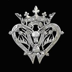 Victorian Scottish Luckenbooth Brooch Wiccan Art, Wiccan Symbols, Celtic Symbols, Tartan, Stag And Doe, Le Clan, Memento, Scottish Thistle, Celtic Wedding