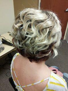 Bridesmaid hair --For Jen to see --Short hair