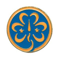 WORLD TREFOIL PIN $2.25 #09062 Girls and Adult Girl Scouts wear this pin on the left side of the uniform directly above the Membership Pin on the Insignia Tab.