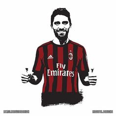 FABIO BORINI!👍🏻 He is one of the few players who play with the whole passion this season. For this reason he impressed many of us. Keep it up @fabh29 👏🏼 - Credits @acmilanswissdesign / @regista.designs - #borini #passion #drawing #calcio #soccer #football #milan #milano #rossoneri #rossonero #milanista #acm #acmilan #love #instagood #photooftheday #tbt #picoftheday #instadaily #tb #weareacmilan #acmswiss #forzamilan #Nico🔴⚫️