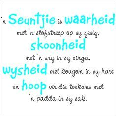 Afrikaans Wall Stickers - Page 3 of 3 - Vinyl Art SA Wall Quotes, Words Quotes, Life Quotes, Family Quotes, Funny Quotes, Family Subway Art, Afrikaanse Quotes, Perfection Quotes, You Are Awesome