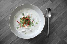 Tom Kha Gai soup (recipe on zsa-zsa-zsu.de) #yammi #chicken #foodporn #asiafood
