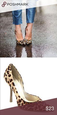 Leopard Guess heels Super cute leopard print heels❤️ GUESS Shoes Heels