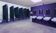 Not mine. I really adore this purple bathroom though and may use it in my story. Living Room Background, Scenery Background, Animation Background, 2d Game Background, Anime Scenery Wallpaper, Anime Backgrounds Wallpapers, Cute Backgrounds, Episode Interactive Backgrounds, Episode Backgrounds