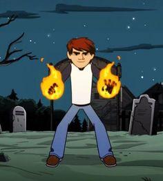 "Kai e seu poder de fogo Na série ""O Vazio"" Netflix (Teorias) Cartoon Shows, Cartoon Characters, Fictional Characters, Hollow Game, Kai, The Hallow, Animated Cartoons, Netflix Series, Animation Series"