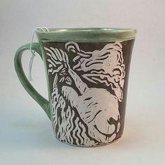 Art by South African ceramic artist Jennifer Steyn of Twin Willows Ceramics