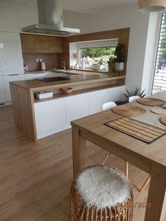 Modern Kitchen Design, Interior Design Kitchen, Tiny Living, Home And Living, Küchen Design, Home Kitchens, Kitchen Remodel, Decoration, House