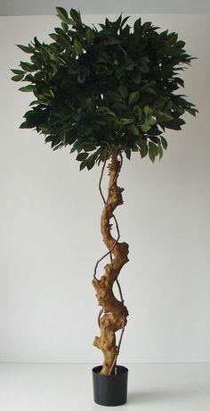 Künstlicher Sakakibaum 160cm Dekobaum Kunstbaum Echtholzstamm Sperrstrauch Baum