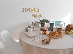 Hacer mesa Navidad : via La Garbatella