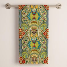 One of my favorite discoveries at WorldMarket.com: Spring Venice Bath Towel
