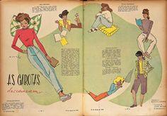 Na coluna de Alceu Penna, a combinação de boa educação e elegância das mulheres de classe com os ares de liberdade e autonomia das atrizes de Hollywood.