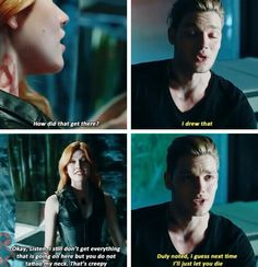 Season 1 Episode 1: Jace and Clary