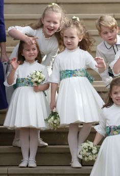 Little Cuties - The Best Photos From Princess Eugenie's Wedding - Photos