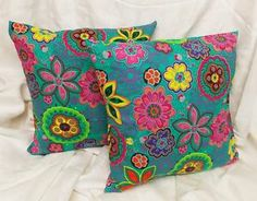 Bohemian pillows boho chic summer wild fun