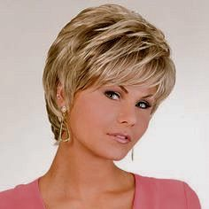 Always Perfect Wig By Soft Stretch Brand Cabelo curto Pixie Short Thin Hair, Short Grey Hair, Short Hair With Layers, Short Hair Cuts For Women, Grey Wig, Short Layered Haircuts, Haircuts For Fine Hair, Cute Hairstyles For Short Hair, Short Hair Styles