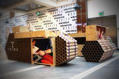 Pop up Shop | Pop up Store | Retail Design | Retail Display | Tube Tank TRIWA pop-up shop by Modelina Architekci