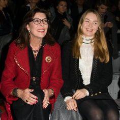 Alexandra de Hanovre et Caroline de Monaco