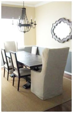 Dining Room Table & Chairs from Restoration Hardware!