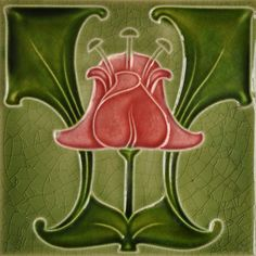 Godwin & Hewitt c1905 - RS0075* - Art Nouveau Tiles