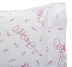 Pink Pillow Fight Pillow Cases and Shams