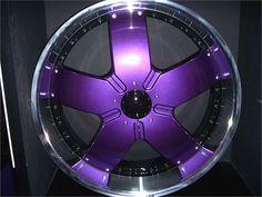 Purple wheel