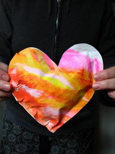 scrumdilly-do!: Repurposed Art: Puffy Heartshttp://scrumdillydo.blogspot.com/2008/02/repurposed-art-puffy-hearts.html