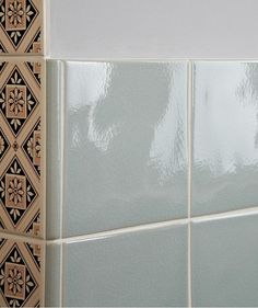 MH Moss Crackle Plain Tile