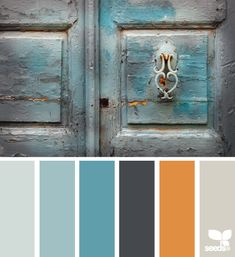 This 'Aged Tones' Colour Pallete from Design Seeds would look great in a Farmhouse Kitchen. Colour Pallette, Colour Schemes, Color Patterns, Color Combos, Orange Palette, Decoration Inspiration, Color Inspiration, Palette Deco, Design Seeds