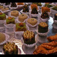 La Pâtisserie du Menzel, ce sont des petite bouchées peut sucrées et  raffinées de confections tunisiennes. Et le tout présent sur Montpellier.  Bienvenue