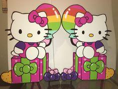 Hello Kitty Rainbow 3 ft foam