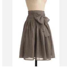 Modest, elegant skirt.