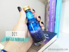 DIY | Bottle Nebula/ Galaxy in a Bottle
