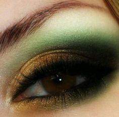 Maquillaje para ojos cafe, eye make up for brown eyes