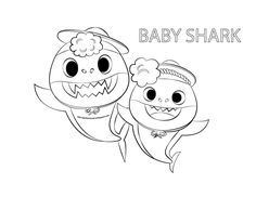 Baby Shark Coloring Page Elegant Baby Shark Coloring Pages Shark Coloring Pages, Paw Patrol Coloring Pages, Bunny Coloring Pages, Flag Coloring Pages, Cartoon Coloring Pages, Free Printable Coloring Pages, Coloring Pages For Kids, Coloring Books, Shark Activities