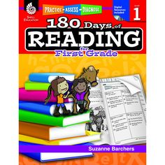 This resource provides first grade teachers and parents of first grade students with 180 daily practice activities to build and gauge students' reading comprehension and word study skills. Great for a