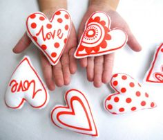 Make Your Own Scandinavian Valentine Hearts Kit by Jane Foster