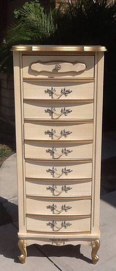 Vintage French Provincial Lingerie Chest on Etsy, $325.00