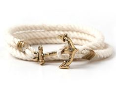 Atlantic Whalers anchor bracelet // Kiel James Patrick