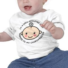 Well Adjusted Baby Chiropractic Shirt